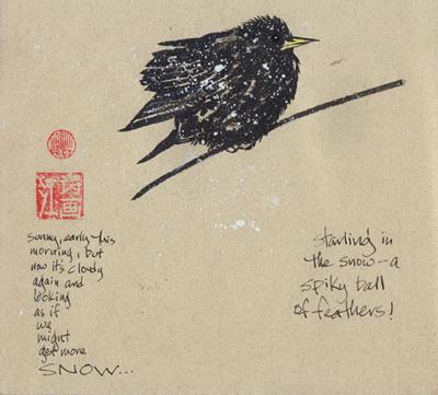 130-1 Snow Starling
